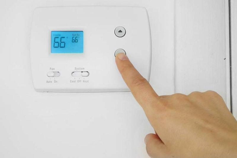 thermostat adjustment