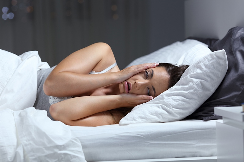 Using AC for sleep benefits.