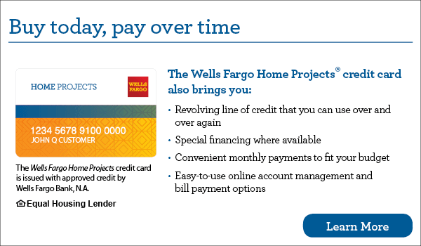 Golden Rule Wells Fargo Financing.