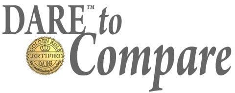 dare to compare.
